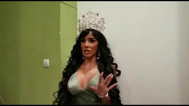ŠOK STAJLING ALEKSANDRE SUBOTIĆ: Na glavu stavila DIJAMANTSKU krunu, kosa preko celih leđa, a evo ko joj je verna PRATNJA