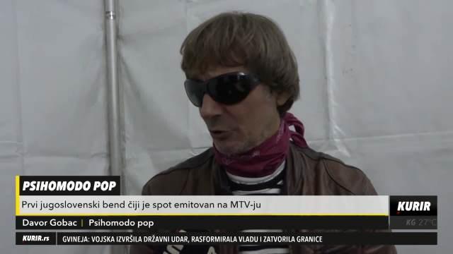 DAVOR GOBAC IZ PSIHOMODO POPA ZA KURIR TV: Glazba se pretvorila u SVAŠTA, slušajte ROK