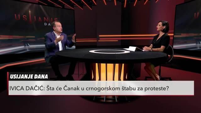 ČANAK JE FIL NA ANTISRPSKOJ TORTI! Dačić o lideru LSV: Dobija pare da podstiče nemire u Crnoj Gori