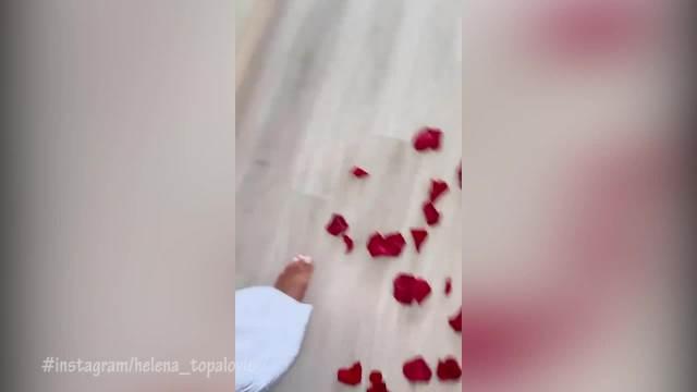 TOPALKOVA ĆERKA REKLA DA! Helena Topalović verena, ušetala u luskuznu sobu i dočekao je krevet pun latice RUŽA, a prsten ŠLJAŠTI!