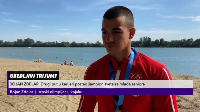Srpski olimpijac u kajaku Bojan Zdelar