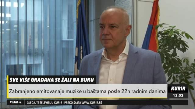 Dr Radojčić o kontrolisanju buke u Beogradu