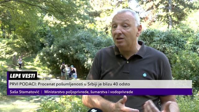 LEPE VESTI: Procenat pošumljenosti u Srbiji je blizu 40 odsto