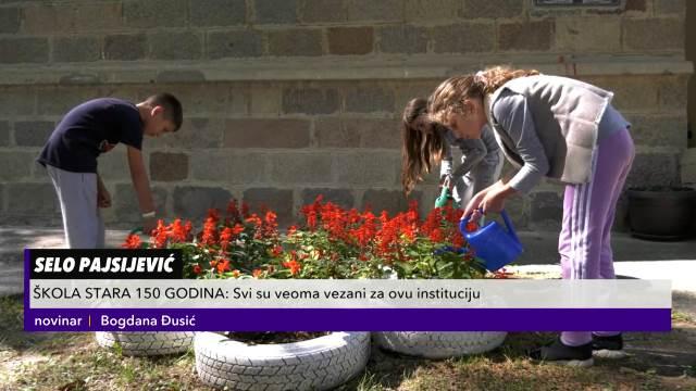JEDNA OD NAJSTARIJIH ŠKOLA U CENTRALNOJ SRBIJI: Ima 150 godina, plastenik sa cvećem i SAMO JEDNOG PRVAKA KURIR TV