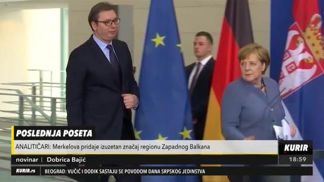 ZASLUŽENA PODRŠKA NEMAČKE: Poseta Merkelove Srbiji, dvanaesti susret u prethodnoj deceniji