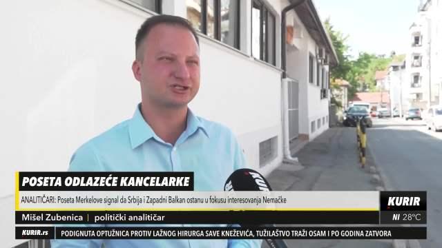 NEMAČKA NEĆE ZABORAVITI BALKAN: Politički analitičar Mišel Zubenica o budućoj saradnji Beograda i Berlina