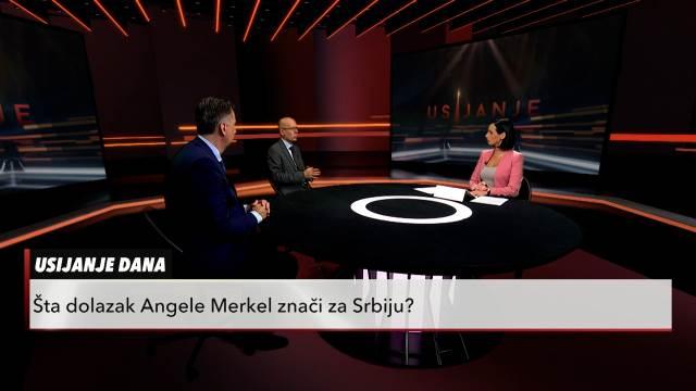 ANGELA MERKEL U BEOGRADU Šta njen dolazak znači za Srbiju: Ognjen Pribićević i Slobodan Zečević u Usijanju