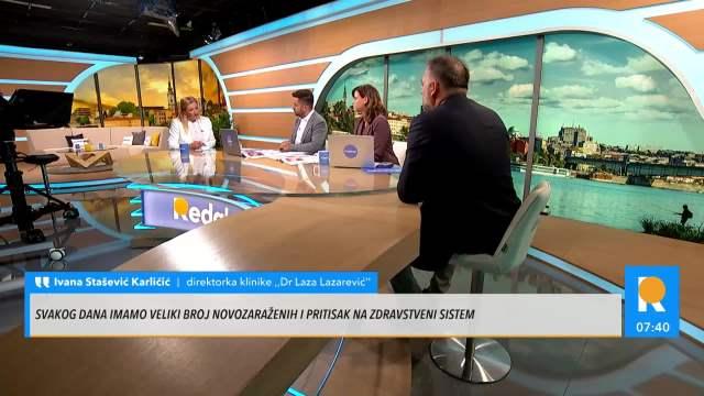 DA SMO SE VAKCINISALI NA VREME NE BI SE RAZMATRALE PROPUSNICE! Dr Stašević: Vakcina je dokazano sredstvo za borbu sa pandemijom