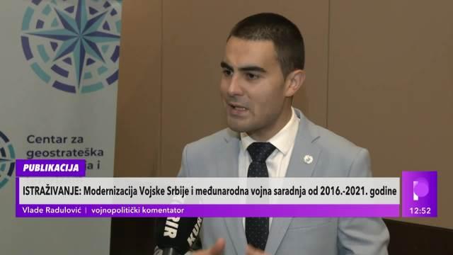 REŠENO PITANJE ZAŠTITE SRPSKOG NEBA! Vlade Radulović OTKRIO kako protiče MODERNIZACIJA srpske vojske