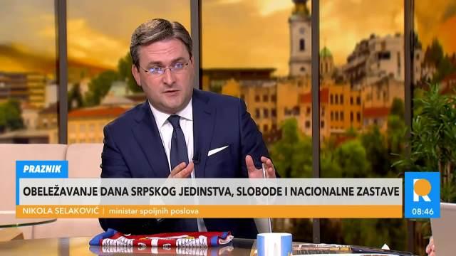 MINISTAR SELAKOVIĆ O PRIZNANJU SAŠE JANKOVIĆA: Pokazalo se da je Aleksandar Vučić bio u pravu, da nije bio paranoičan