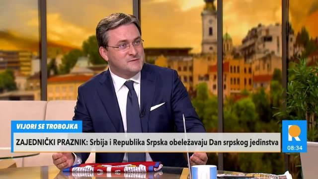 MINISTAR SELAKOVIĆ O DANAŠNJEM PRAZNIKU: Mi imamo razloga da SLAVIMO pobedu naše Srbije koju su svi otpisali! Slavimo naš NAROD