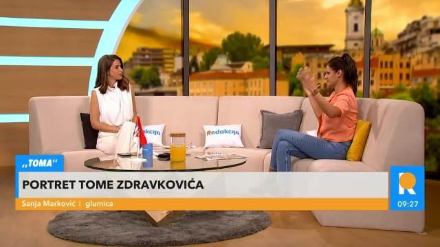 SANJA MARKOVIĆ, GLUMICA: Imam tremu pred premijeru filma Toma, jako sam uzbuđena