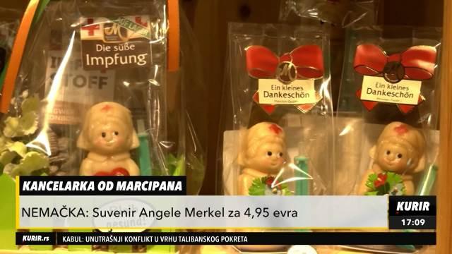ANGELA MERKEL OD MARCIPANA Nemci napravili slatkiš sa likom odlazeće kancelarke