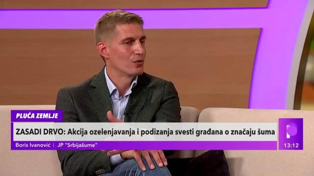 BORIS IVANOVIĆ, JP SRBIJAŠUME: 200.000 sadnica drveća će biti zasađeno tokom treće sezone akcije Zasadi drvo