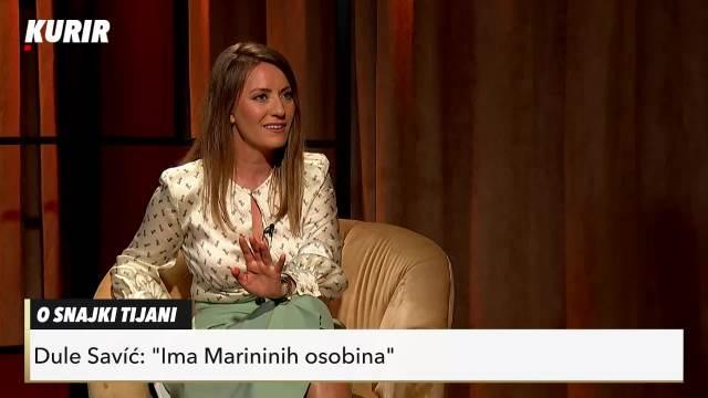DULE SAVIĆ O TEŠKIM TRENUCIMA U ŽIVOTU: Marina i ja smo hteli fudbalski tim, nije nam se dalo