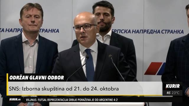 VUČEVIĆ: Vučić ima moralnu obavezu da prihvati kandidaturu za predsednika Srbije