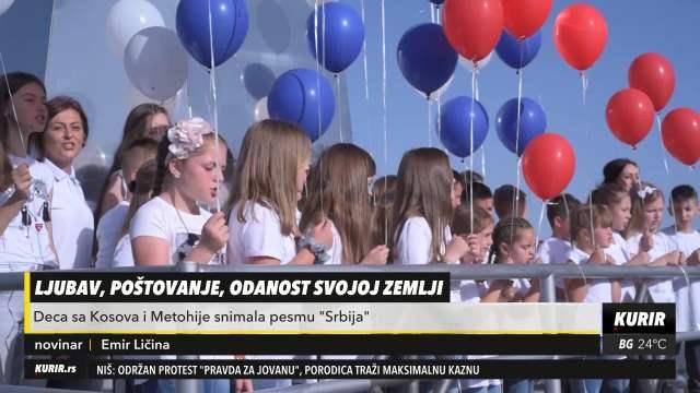 OTADŽBINO MOJA, PRELEPA I HRABRA, MI SMO TVOJA DECA, MI SMO TVOJA SNAGA! Mališani sa KiM snimili pesmu Srbija