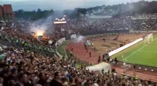 NATHO BACIO GROBARE U TRANS: Ovako je Partizan poveo u Humskoj!