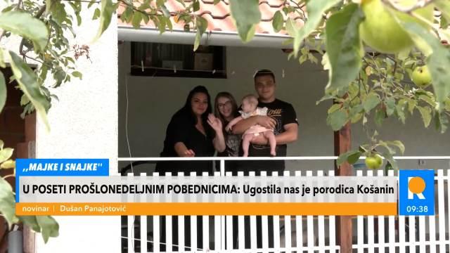 PORODICA KOŠANIN IZ MAJKI I SNAJKI: I Seka nam je čuvala bebu dok smo mi snimali i kuvali!