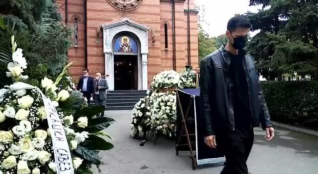 Dušan Duda Ivković sahrana