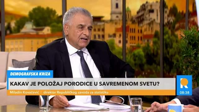 FLEKSIBILNO RADNO VREME, POVOLJNI STANOVI I NOVČANA POMOĆ: Miladin Kovačević izneo moguće mere za poboljšanje prirodnog priraštaja