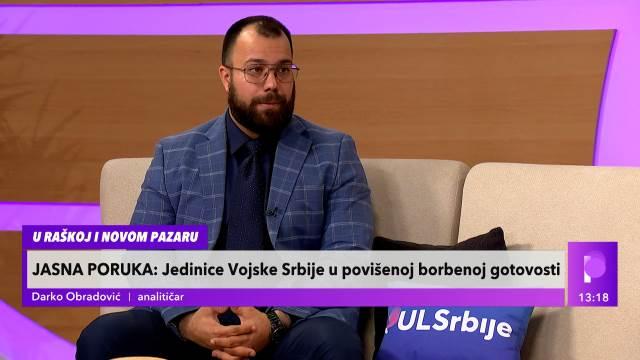 DA PUKNE PETARDA NA KiM, KO ZNA U ŠTA MOŽE DA NAS ODVEDE! Analitičar Obradović upozorava na situaciju sa Jarinja i Brnjaka