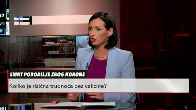 SMRT PORODILJE ZBOG KORONE: Koliko je rizična trudnoća bez vakcine? Dr Goran Belojević i Vanja MIlošević u Usijanju