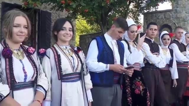Doček patrijarha srpskog Porfirija u manasitru Đurđevi stupovi. Dolazak na ustoličenje epikopa Metodija