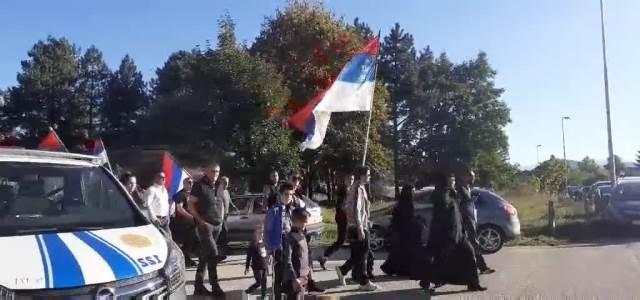 Doček Patrijarha srpskog Porfirija u Beranu