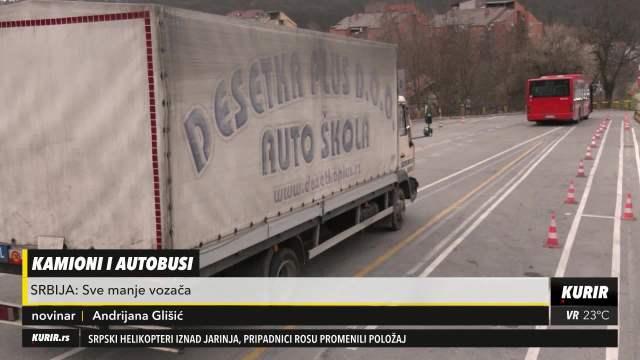 SVE VIŠE PENZIONERA ZA VOLANIMA U SRBIJI