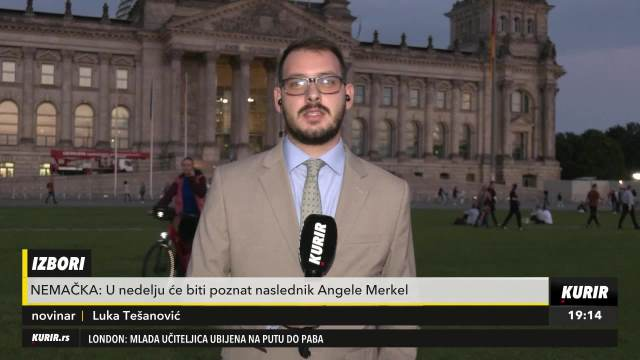 EKSLUZIVNO, KURIR TELEVIZIJA U BERLINU: Nemačka bira naslednika Angele Merkel