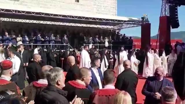 USTOLIČENJE EPISKOPA METODIJA: Obraćanje patrijarha Porfirija