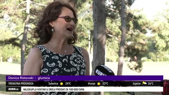 DANICA RISTOVSKI: Trudim se da budem nevidljiva na setu sa Lazom! (KURIR TV)