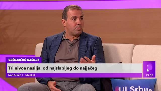 Advokat Ivan Simić o vršnjačkom nasilju