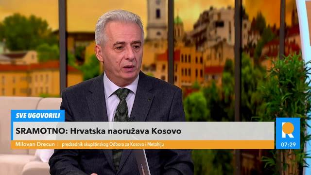 SRAMAN POTEZ HRVATSKE NARUŠAVA MIR NA BALKANU! Šalju NAJBRUTALNIJE naoružanje tzv. vojsci Kosova, seju MRŽNJU prema Srbima