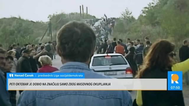 ČANAK ISPRIČAO ŠTA SE DEŠAVALO U NOVOM SADU 4. OKTOBRA: Čekali smo Miloševića kod mosta, mnogi su mogli da slete u Dunav!