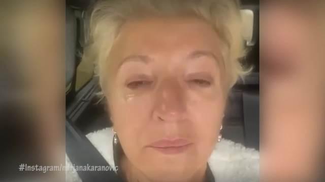 MIRJANA KARANOVIĆ ZAJECALA U KOLIMA! SVA PODBULA OD PLAČA: Samo me udari kao pesnicom da vas više nikad neću videti! (VIDEO)
