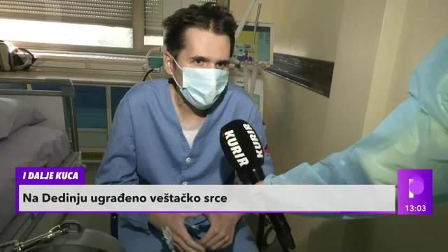 DUŠANU (29) VEŠTAČKO SRCE SPASLO ŽIVOT, PONOVO MOŽE DA HODA I GOVORI: Ova operacija je drugi put urađena na Institutu Dedinje