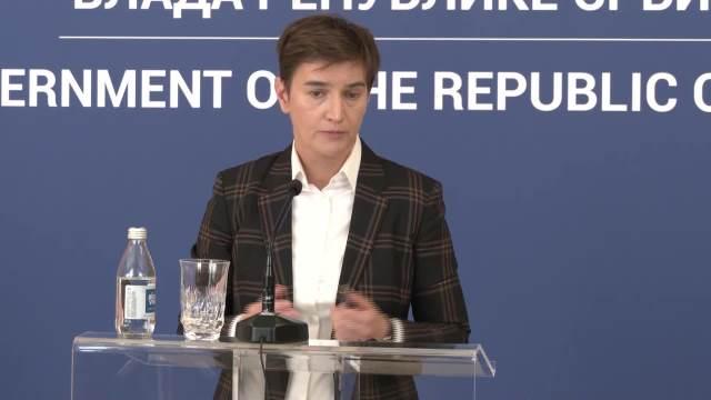 BRNABIĆ: Ne podržavam mešanje političara u rad suda, što to niste pitali za Miku Aleksića i  i Mariniku Tepić