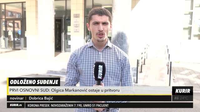 ODLOŽENO SUĐENJE: Nadrilekarka Olgica Markanović tražila nanogicu, ipak vraćena u Centralni zatvor!