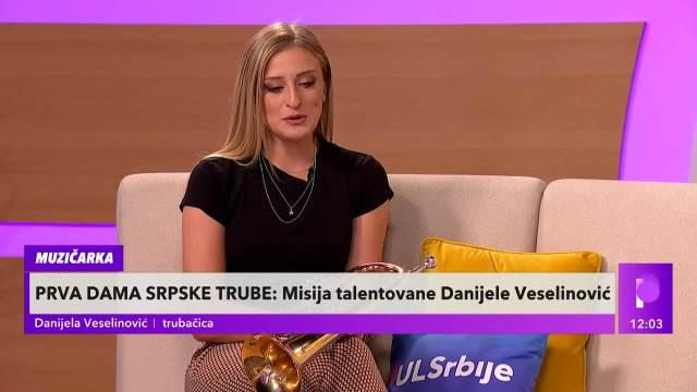 JEDINA ŽENSKA TRUBAČICA U SRBIJI! Danijela progovorila o predrasudama sa kojima se borila BILO JE TEŠKIH MOMENATA