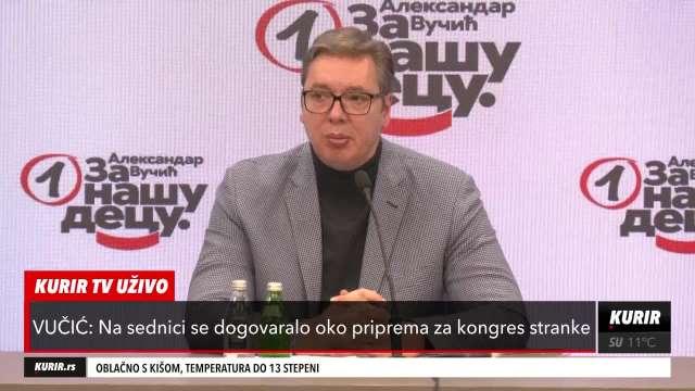 PRED SRBIJOM SU VAŽNE STVARI: Vučić o borbi protiv korone, energetskoj bezbednosti, ekonomskom napretku