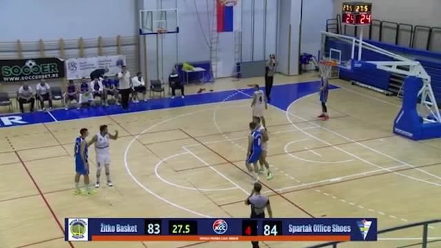 SKANDAL NA MEČU PRVE B LIGE! Košarkaš Žitko basketa zbog nesportske nasrnuo na sudije, sa tribina doletela flaša VIDEO