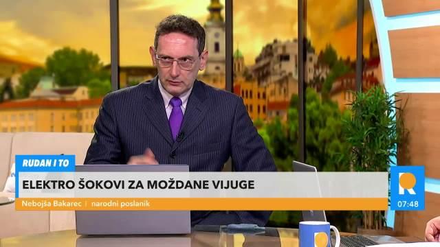 VOLIM VEDRINU I HRABROST VEDRANE RUDAN! Bakarec: Hrvatska nije pravedno društvo, a ona nije ANTIHRVATICA