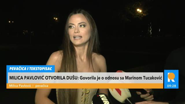 MILICA: NE PLAŠIM SE LAĆINE SVESKE! Pevačica otkrila da Marini Tucaković nije ostala DUŽNA novac!
