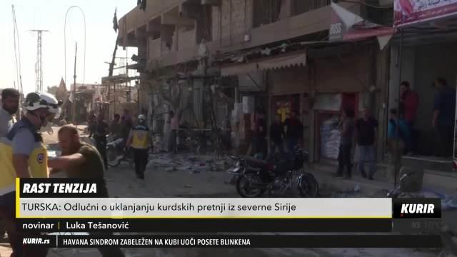 RAST TENZIJA U TURSKOJ: Odlučni o uklanjanju kurdskih pretnji iz severne Sirije