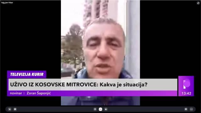 KURIR TV U SREMSKOJ MITROVICI DAN POSLE NASILJA ROSU: Ulice pune patrona od šok bombi i suzavca, podsećaju ljude šta se desilo