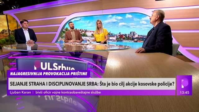 Ljuban Karan o akciji kosovske policije