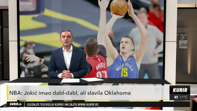 NBA: Jokić imao dabl-dabl, ali slavila Oklahoma