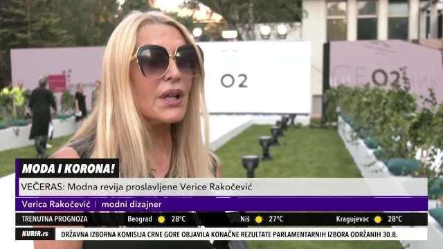 PRVA ON-LINE MODNA REVIJA NA BALKANU: Verica Rakočević novu kolekciju posvetila medicinskim radnicima (KURIR TV)